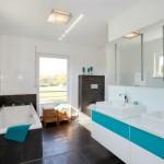 Stadtvilla BRAVUR 400: Badezimmer