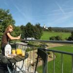 Stadtvilla BRAVUR 130: Balkon mit Ausblick