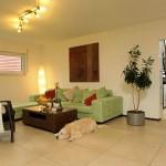 Effizienzhaus VIO 200: Wohnzimmer mit Hund