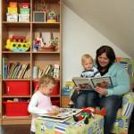 Effizienzhaus VIO 200: Familie König im Kinderzimmer