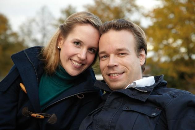 Das Paar Tim und Jennifer