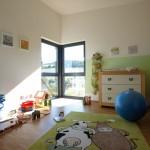 Kinderzimmer mit Eckvergalsung