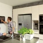 Küche mit Finger CONTROL Panel