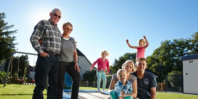 Familie Schmidt und Familie Manke