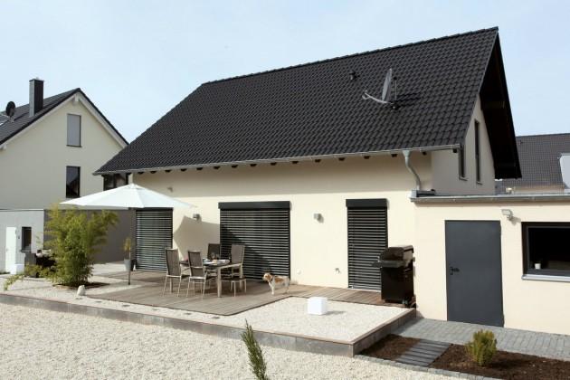 Terrasse Einfamilienhaus