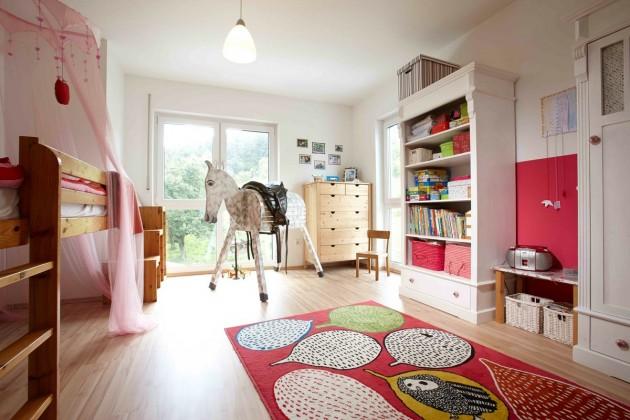 Das geräumigen Kinderzimmer der Tochter