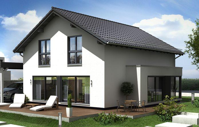 Das neue Musterhaus »NEO« des Fertighausherstellers Finger-Haus in Günzburg.