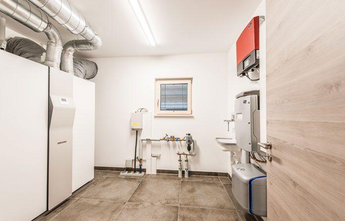 Der Keller ist das beste Stockwerk für die Haustechnik. (Foto: FingerHaus)