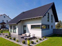 Das Eigenheim punktet mit mehr Wohnfläche und Gestaltungsfreiheit. (Foto: FingerHaus)