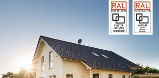 Das Gütezeichen für Fenster, Fassaden und Haustüren sowie deren Montage hilft den Bauherren bei der anstehenden Türen- und Fensterwahl. (Foto: FingerHaus, RAL)
