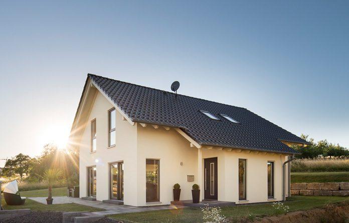 Dachformen: Das Satteldach ist die beliebteste Dachform der Deutschen. (Foto: FingerHaus)