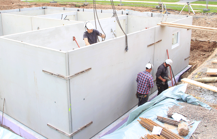 Ein Untergeschoss mit RAL Gütezeichen Fertigkeller bietet ein sicheres Fundament und hochwertige Wohnfläche. (Foto: FingerHaus)