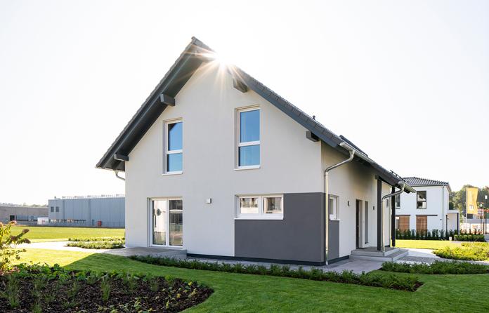 Hausbau: Fertighäuser werden individuell geplant. (Foto: FingerHaus)
